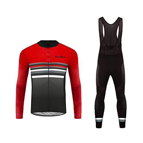 Future Sports UGLYFROG Bike Wear Vellón Térmico Maillots de Ciclismo Bicicleta Jerseys Manga Larga Tops Tops Invierno Hombre Escudo Outdoor Wear