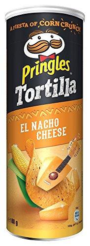 Pringles Tortilla El Nacho Cheese Chips | Einzelpackung | 180g