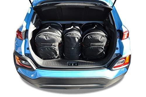 KJUST Dedizierte Kofferraumtaschen 3 STK kompatibel mit Hyundai KONA I 2017 -