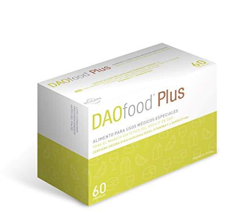 DAOfood - Traitement du déficit du DAO - 60 capsules avec pellets gastro-résistants