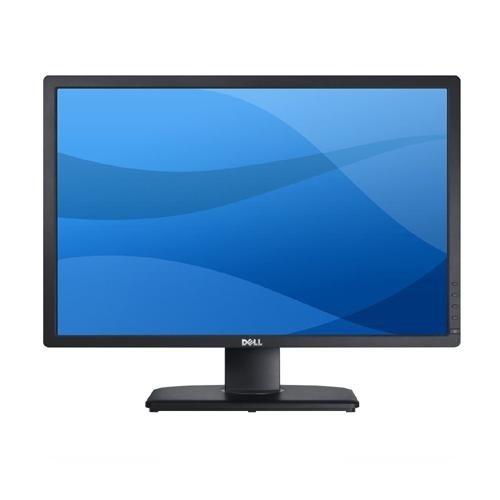 Dell U2412M 61 cm (24 Zoll) LED-Monitor (DVI, VGA, 8ms Reaktionszeit, höhenverstellbar) schwarz/silber