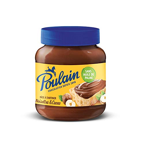 Poulain Schokoladen/Haselnuss Aufstrich aus Frankreich 400g.