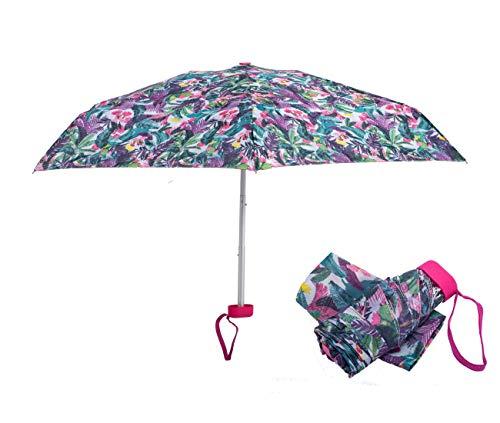 AIDGY Portable Mini Umbrella Folding Umbrella Lightweight Small and Compact Travel Umbrella Five fold Umbrella Sun Umbrella uv Protection. Can to...
