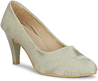 Commander Casual Stiletto Pumps for Girls and Women (755)
