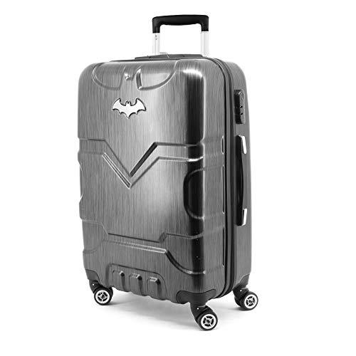 Karactermania Batman Batsignal-ABS Trolley Suitcase, 67 cm, 70 L, Black
