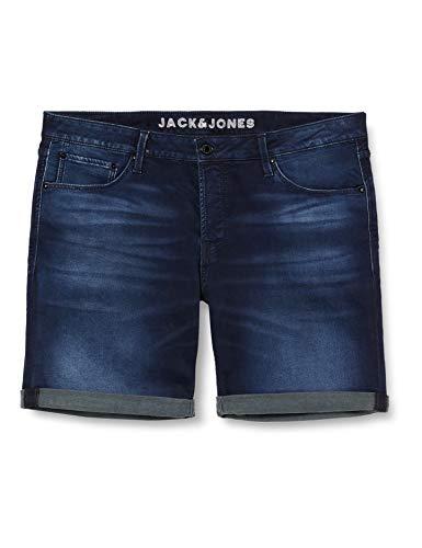 Jack & Jones JJIRICK JJICON Shorts GE 011 I.K STS Pantalones Cortos, Azul Denim, XXL para Hombre
