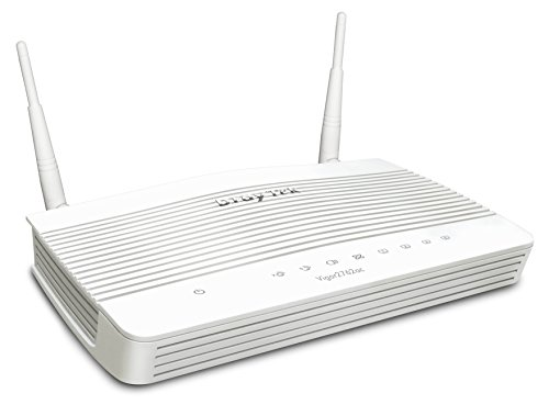 DrayTek Vigor 2762AC ADSL/VDSL Dual-Band 802.11ac 5GHz Wireless Router Firewall with VPN for Remote...