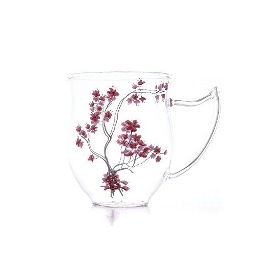 Becher 0,3l Cherry Blossom aus Glas
