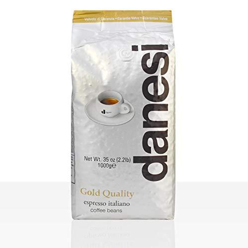 Danesi Caffe Oro Espresso 12 x 1kg ganze Bohne, Gold Quality, 100% Arabica