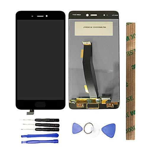 JayTong - visualización LCD y digitalizador de visualización táctil de Repuesto para Xiaomi Mi5S Mi 5S Without Fingerprint Negro