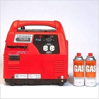 三菱重工 三菱ポータブルカセットガス発電機 MGC900GB