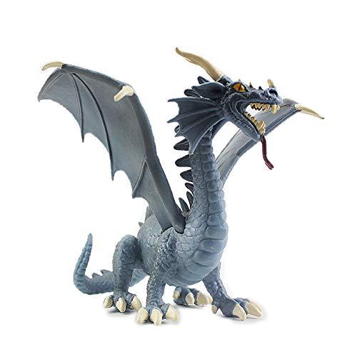 Warmtree 6 inch Realistic Dragon Model Plastic Flying Dragon...