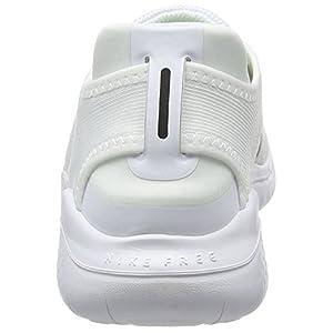 Nike Mens Free Rn 2018 White/Black 942836 100 - Size 9.5