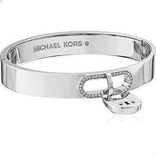 Michael Kors Stainless Steel Bracelet for Women, Silver, MKJ4611040