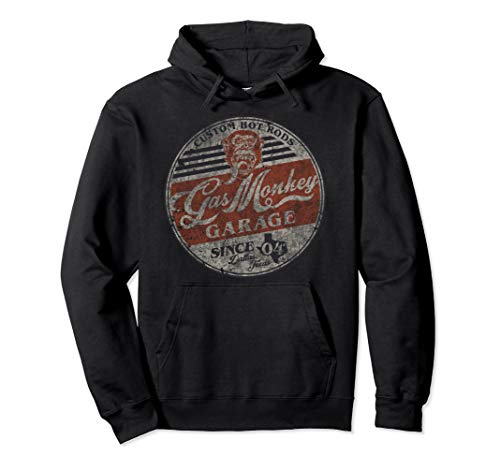 Gas Monkey Garage Since 04 Circle Logo Pullover Hoodie
