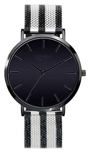 Orphelia Fashion Damen Analog Quartz Uhr Milano mit Mesh Edelstahl Armband