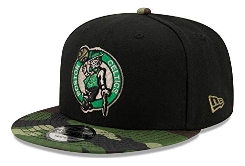 New Era - Gorra NBA Boston Celtics All Star Game Camo 9Fifty Snapback - Negro Negro Talla única