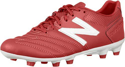 New Balance Men's 442 1.0 Pro Firm Ground V1 Soccer Shoe, Scarlet/White, 8.5 W US