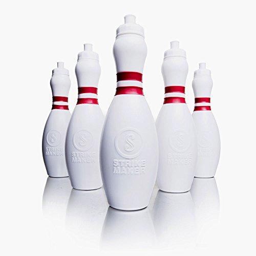 Strikemaker Bowling Pin Trinkflasche