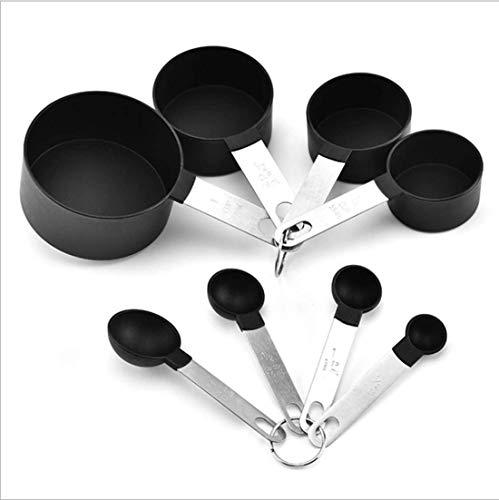 XXL Kitchen Craft Master Class Lot de 8 cuillères à mesurer Acier Inoxydable