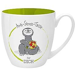 Gruss und Co 46267 Anti-Stress Tasse für Dich, 45 cl, Geschenk, Kaffeetasse