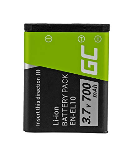 Green Cell® EN-EL10 Klic-7006 LI-40B LI-42B Batería para Nikon Coolpix S510 Olympus...