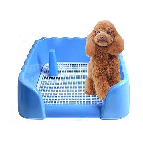 Dog Training Toilet, Dog Toilet Puppy Dog Potty Tray, Puppy Pad Holder with...