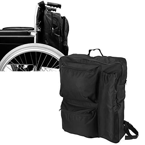 Organizador para sillas de ruedas, práctico bolso para sillas de ruedas de gran capacidad portátil para scooters para sillas de ruedas