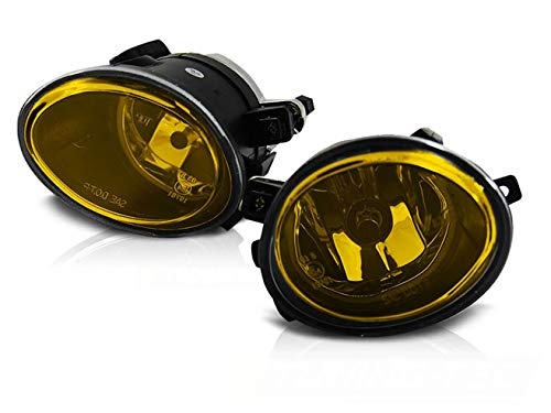 Faros antiniebla compatibles con BMW Serie 5 E39 E46 M-Tech All RS-284 Faros antiniebla delanteros faros antiniebla 1 par de luces antiniebla delanteros luces deportivas amarillas