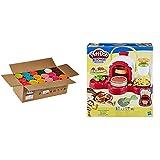 Play-Doh Mega Pack De 36, Botes (Hasbro 36834F03) Cocina De Pizza, Multicolor, Talla Única Hasbro E4576Eu4 , Color/Modelo Surtido