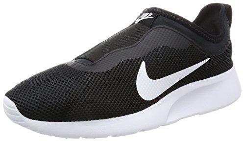 Nike Women's WMNS Tanjun Slip Black/White Running Shoes-5 UK (38.5 EU) (7.5 US) (902866-002)