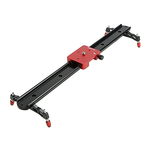 Koolertron Professional 60CM Video Camera Mini Slider with Adjustable Damping& Apply in Video Shooting Rail Stabilization System For DV DSLR Video Camera Canon 550D 500D 600D 1100D 60D 50D 40D 5D 5DII 5DIII