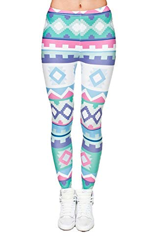 Adelina 3D Digitale fitness yoga elastische print broek rekbaar flexibele modieuze Completi leggings panty potloodbroek