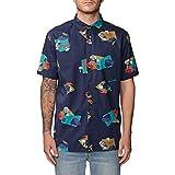 Globe Blind Mind SS Shirt Camiseta, Hombre, Ink, XL