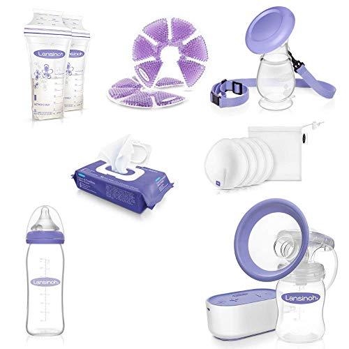 Bolsa de maternidad Lansinoh - Kit de regreso al trabajo - Básicos para la lactancia materna