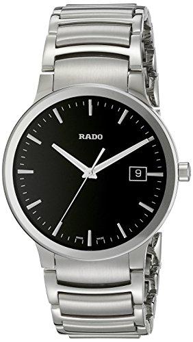 Rado R30927153 - Reloj de Cuarzo para Hombre, con Correa de Acero Inoxidable, Color Plateado