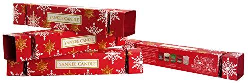 Yankee Candle Decorazioni per la tavola di Natale Include 20 Set Regalo per Candele