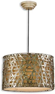 Uttermost 21108 Alita Champagne Metal Hanging Shade, 14.3