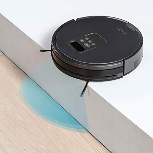 ZACO V85 Saugroboter mit Wischfunktion, App & Alexa Steuerung, 8cm flach, automatischer Staubsauger Roboter, 2in1 Wischen oder Staubsaugen, für Hartböden, Fallschutz, mit Ladestation - 4