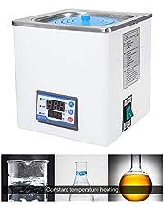 4YANG Laboratorio termostático digital Baño de agua Laboratorio de agua, pantalla digital eléctrica Baño de agua a temperatura constante, con aberturas seleccionables,temperatura ambiente hasta100 ° C