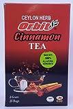 CINNAMON TEA, Cinnamon Tea and Ceylon Black Tea, 25 Count, 2.50 Ounce.