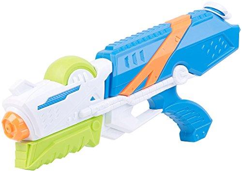 Speeron Wasserspritzpistolen: XL-Kinder-Wasserpistole mit extra-großem Wassertank, 850 ml (Wasserkanone)