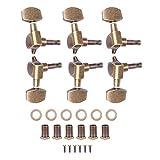 RiToEasysports Guitar Tuning Pegs, 3L3R Guitar Tuning Pegs Accordatori di bloccaggio Teste...