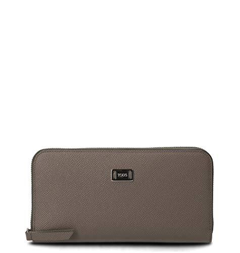 Tod's Luxury Fashion Damen XAWDSRA0400TBB4Z06 Grau Brieftaschen | Jahreszeit Permanent