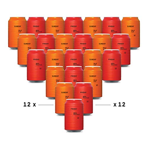 AND UNION - Ale Pack - Craft Beer - 24 x 330ml Dosen - inkl. 6,00€ Pfand