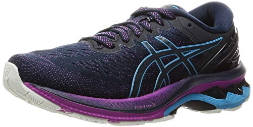 ASICS Women's Gel-Kayano 27 Running Shoe, French Blue/Digital Aqua, 5.5 UK