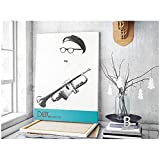 XIANGLL Dizzy Gillespie Jazz Trompete Poster Musik Star
