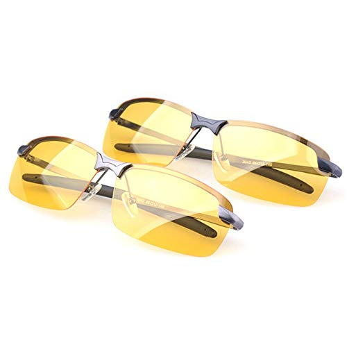 MXBIN Deporte Ciclismo Conducción Lentes antideslumbrante Gafas de visión Nocturna Vidrios polarizados...