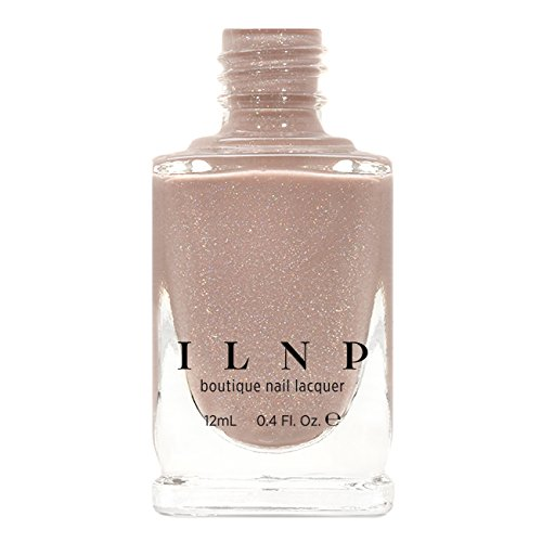 ILNP Chleo - Neutral Blush Pink Holographic Sheer Jelly Nail Polish