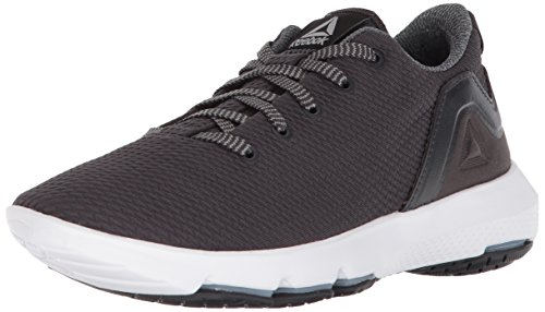 Reebok Women's Cloudride DMX 3.0 Sneaker, Coal/Flint Grey/White, 9 M US
